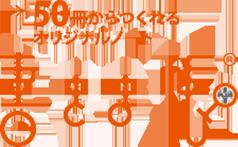 ロゴ:→50冊からつくれるオリジナルノート 書きま帳R