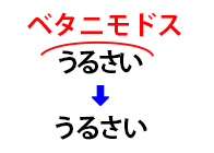字間調整2
